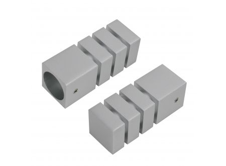 Liedeco Endstück 20 mm Pur Quader 2 Stück bei handwerker-versand.de günstig kaufen