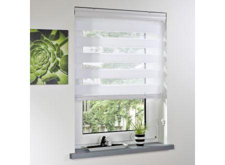 Liedeco Duo-Rollo mit Blende weiß 090 x 220 cm bei handwerker-versand.de günstig kaufen