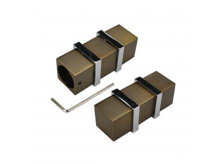 Liedeco Endstück 25 mm Quader 1 Stück bei handwerker-versand.de günstig kaufen