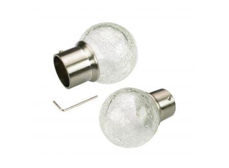 Liedeco Endstück 20 mm Klassik edelstahl-optik 1 Stück bei handwerker-versand.de günstig kaufen