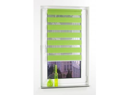 Liedeco Klemmfix Duo-Rollo mini apple-green 100 cm 160 cm bei handwerker-versand.de günstig kaufen