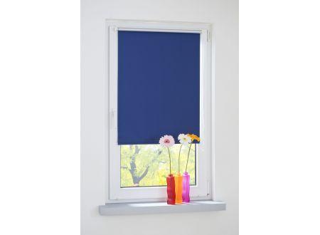 Liedeco Klemmfix-Rollo VD-verspannt 150cm lang Farbe:blau Breite:120 cm