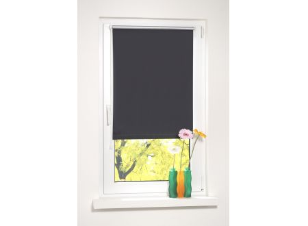 Liedeco Minirollo Verdunkelung Farbe:schwarz Breite:095 x 150 cm