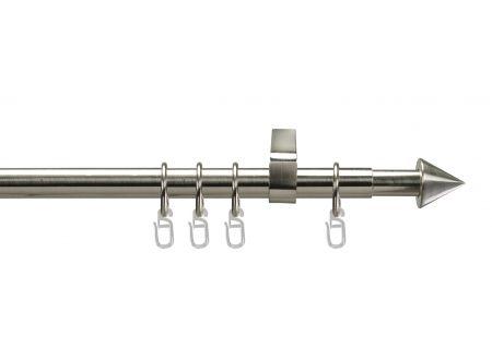 Liedeco Stilgarnitur ausziehbar 120-200 cm edelstahl-optik bei handwerker-versand.de günstig kaufen