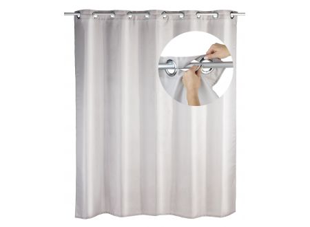 Duschvorhang Comfort flex Farbe:taupe