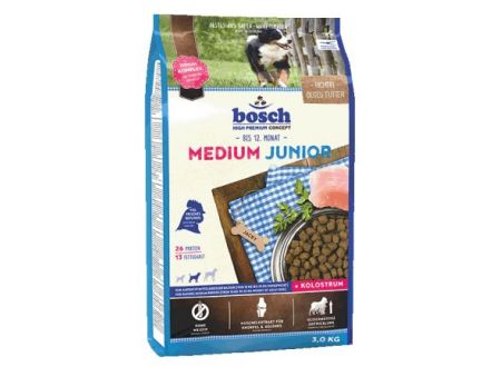 Dog Medium Junior Inhalt:3kg
