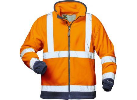 Elysee Warnschutzjacke Fleece Größe:S