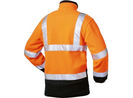 Elysee Warnschutzjacke Fleece Größe:M