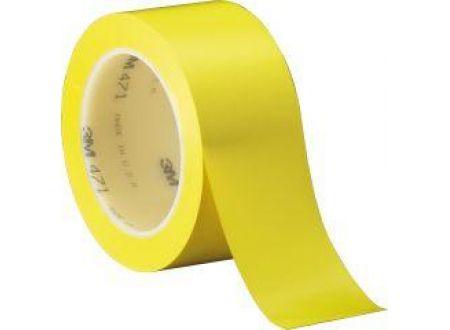 Weich-PVC-Klebeband 3M 50mm x 33m  Farbe:gelb Lieferumfang: 6 Stück