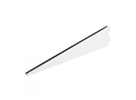Träger 2-reihig Größe:470mm Farbe:weiß
