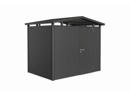 Gerätehaus Panorma Gr. P2  Farbe:dunkelgrau-metallic  Ausführung:Standardtür
