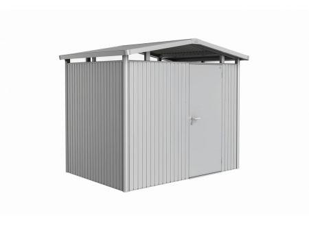Gerätehaus Panorma Gr. P2  Farbe:silber-metallic Ausführung:Standardtür