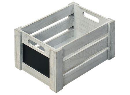 Aufbewahrungsbox - Antik weiß mit beschreibbarer Fläche bei handwerker-versand.de günstig kaufen