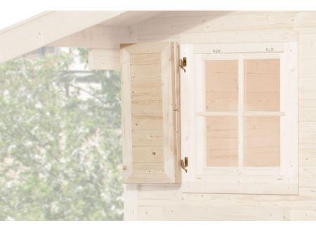 Weka Fensterladen Ausführung:1-seitig Maße: 69x79cm