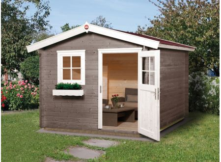 Weka Gartenhaus Premium28 Maße:250 x 200cm