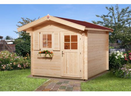Weka Gartenhaus Premium28 V60 Maße:250 x 300cm