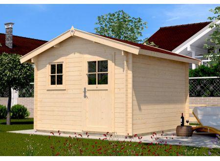 Weka Gartenhaus Premium28 Maße:300 x 300cm