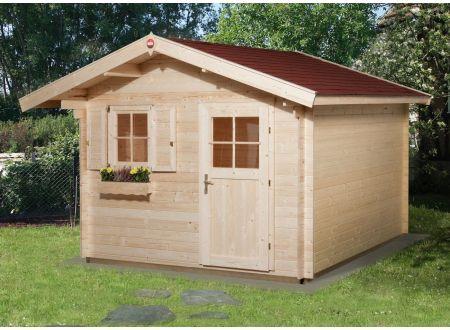 Weka Gartenhaus Premium28 V60 Maße:300 x 250cm