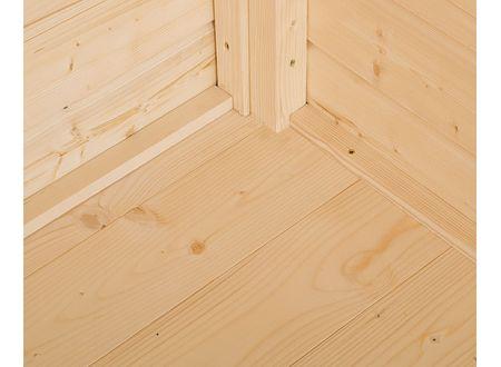 Weka Boden für Gartenhaus 122 -123 Ausführung:Größe 4