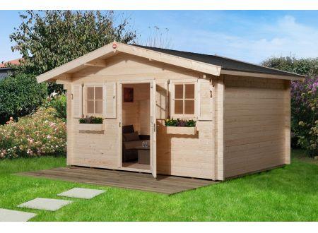 Weka Gartenhaus 135 Größe:Größe 1