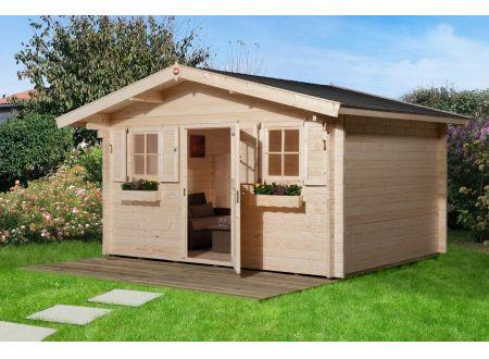 Weka Gartenhaus 135 Größe:Größe 2