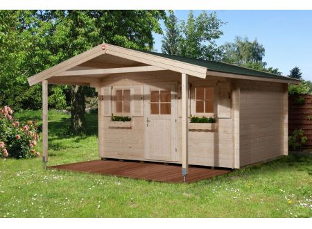 Weka Gartenhaus 135 A Größe:Größe 1