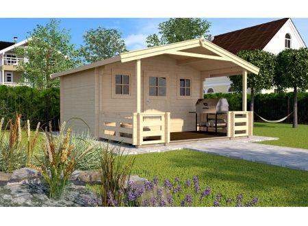 Weka Gartenhaus 135 B Größe:Größe 2
