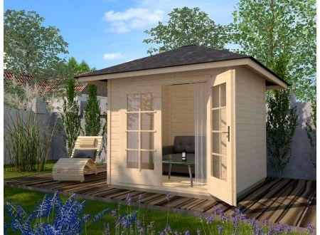 Gartenhaus 177 4Eck Größe:Größe 1