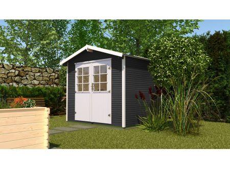 Gartenhaus 218  Größe:Größe 2 Farbe:anthrazit