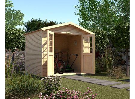 Gartenhaus 218  Größe:Größe 4 Farbe:natur