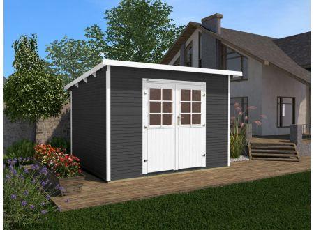Gartenhaus 219  Größe:Größe 1 Farbe:anthrazit