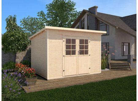 Gartenhaus 219  Größe:Größe 3 Farbe:natur