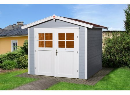 Gartenhaus 224 Größe:Größe 2 Farbe:grau