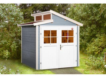 Gartenhaus 226 Größe:Größe 1 Farbe:grau