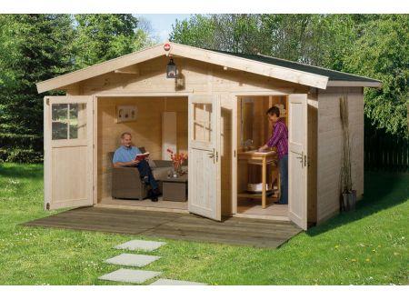 gartenhaus 261 gr e 2 kaufen. Black Bedroom Furniture Sets. Home Design Ideas