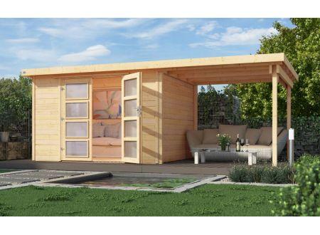 gartenhaus 321 b mit anbau 230 cm gr e 2 kaufen. Black Bedroom Furniture Sets. Home Design Ideas