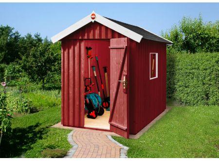 Weka Schwedenhaus Größe:Größe 2 Farbe:schwedenrot