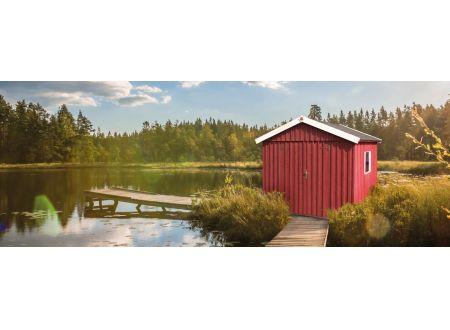Weka Schwedenhaus Größe:Größe 3 Farbe:schwedenrot