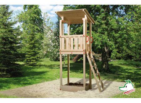 Tabaluga Drachenturm mit Pultdach bei handwerker-versand.de günstig kaufen