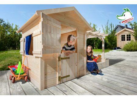 Tabaluga Spielplatz natur 21 mm bestehend aus Drachenhöhle Sandk bei handwerker-versand.de günstig kaufen