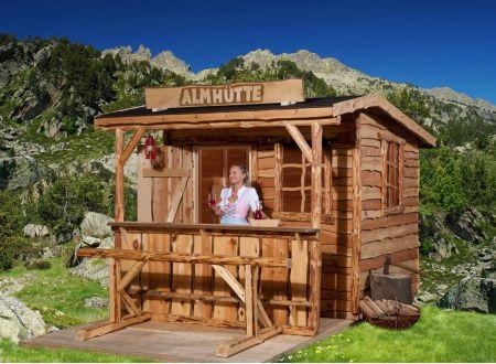 Gartenhaus 820 A  bei handwerker-versand.de günstig kaufen