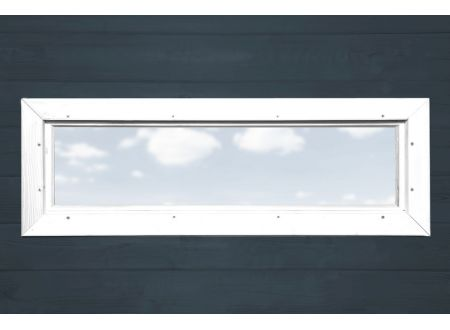 Weka Zusatzfenster schmal feststehend Farbe:weiß