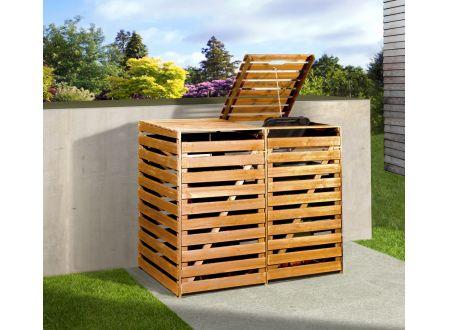 Mülltonnenbox imprägniert bei handwerker-versand.de günstig kaufen