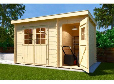Gartenhaus 254  Größe 2 bei handwerker-versand.de günstig kaufen