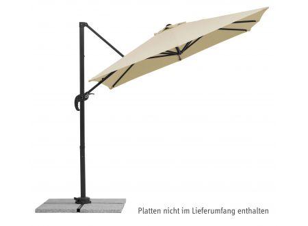 Schneider Schirme Ampelschirm Rhodos Junior 230x230/8 Farbe:natur