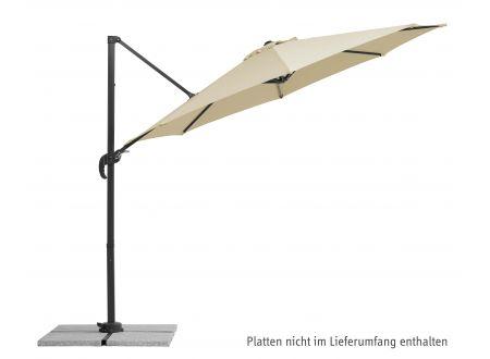 Schneider Schirme Ampelschirm Rhodos Junior 300/8 Farbe:natur