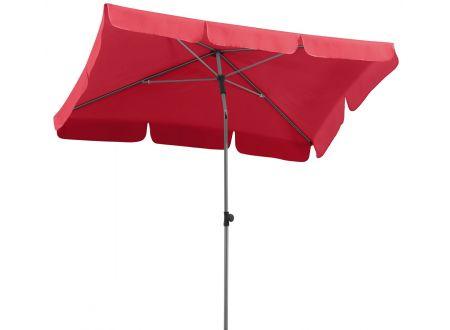 Schneider Schirme Sonnenschirm Locarno 180x120-4 Farbe:rot