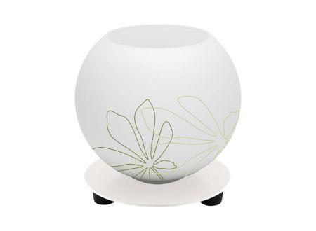 Brilliant Tischleucht klein Pop florales Muster Farbe:weiß/grün