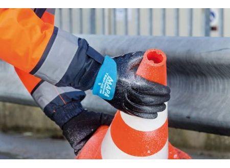 Handschuh Temp Ice 700 schwarz-blau Größe:9