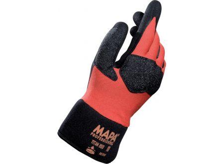 Handschuh Titan 850 schwarz-orange Größe:11